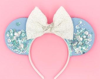 Cinderella Confetti Inspired Ears