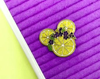 Violet Lemonade Pin