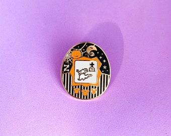Dog Ghost Little Pet Pin