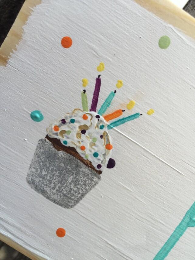 Alles Gute zum Geburtstag hängen Zeichen Rustikale Geburtstag | Etsy