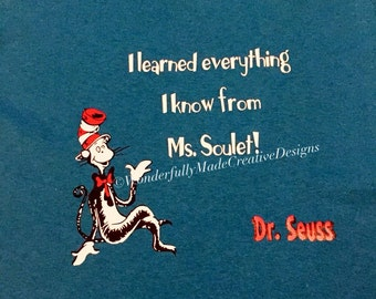 Dr. Seuss---I Learned Everything I Know From....