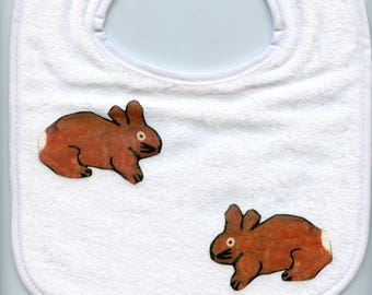 Two Spring rabbits