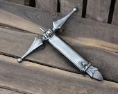 Excalibur Sword Campfire Roaster. Hot Dog Roaster. Marshmallow Roaster. Sword. Firepit. Roasting Sticks. Grilling. Grills. Camping.