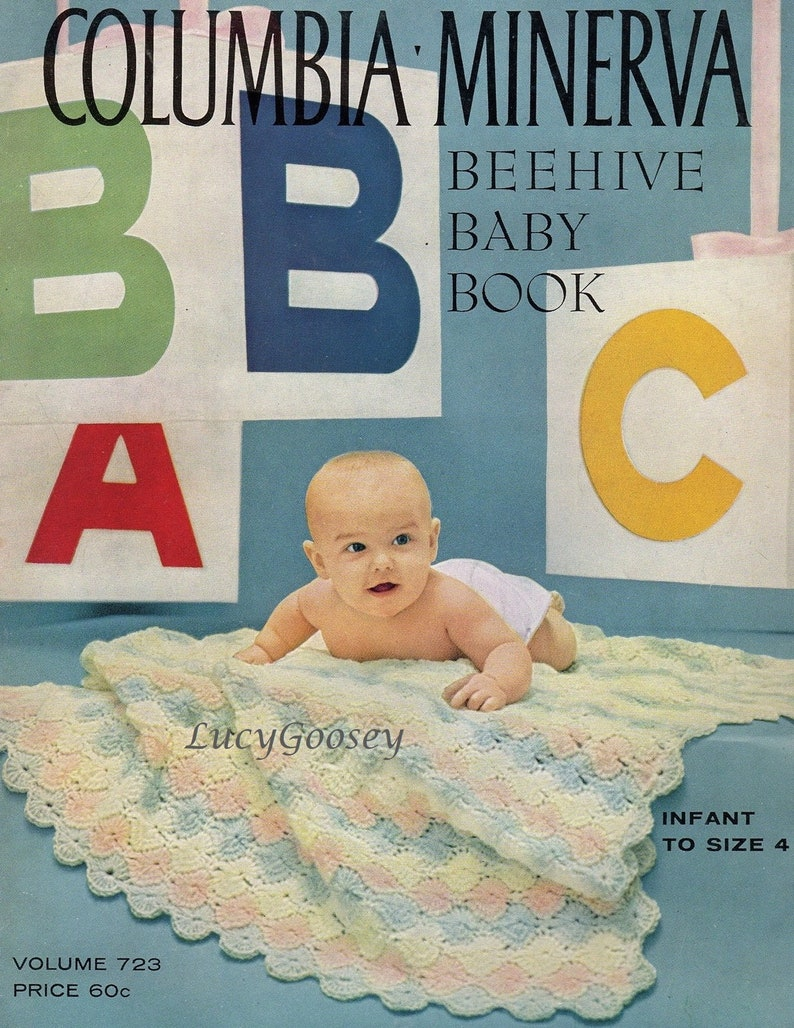 f039acd20df2 Beehive Baby Book Vol 723 Colombia Minerva Crochet   Knit