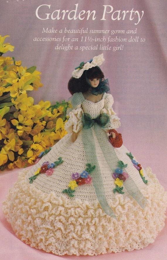 Garten Sie Party Mode Puppe Kleidung häkeln Muster Seiten | Etsy