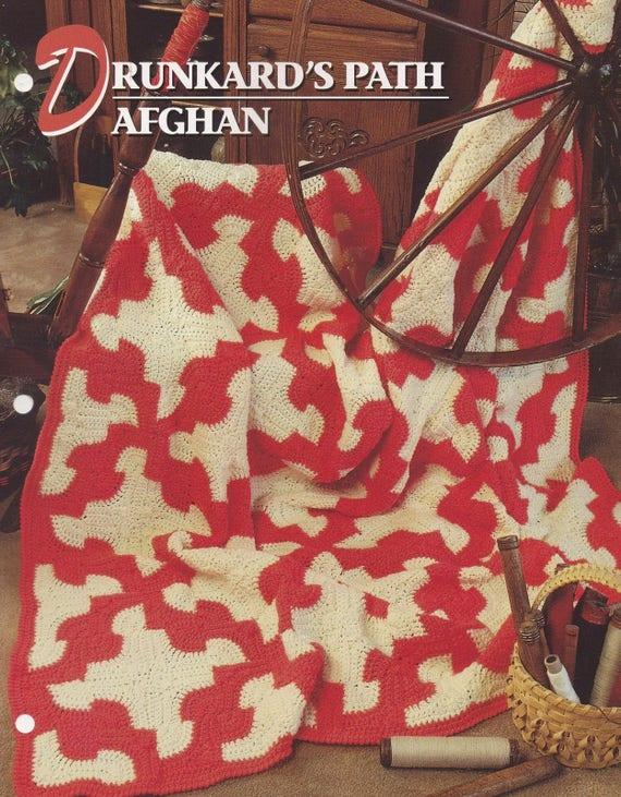 Der Trinker Pfad afghanischen Annie Attic häkeln Quilt & | Etsy