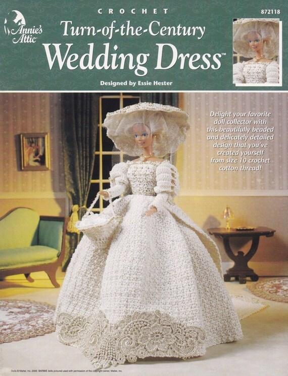 Wende des Jahrhunderts Hochzeitskleid Annie Attic Mode Puppe   Etsy