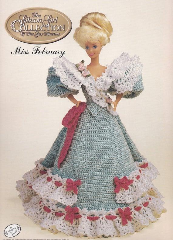 Miss Februar 1994 Annie Gibson Girl der Gay neunziger häkeln   Etsy