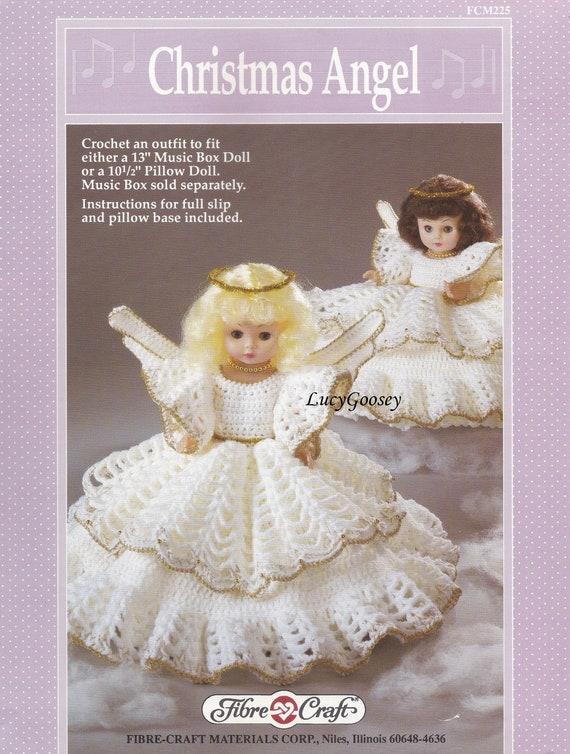 Weihnachtsengel Faser Handwerk häkeln Puppe Kleidung Muster   Etsy