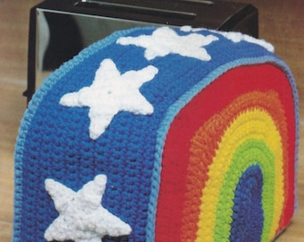 Rainbow Toaster Cover, Annie's Attic Crochet Pattern Leaflet 87R07