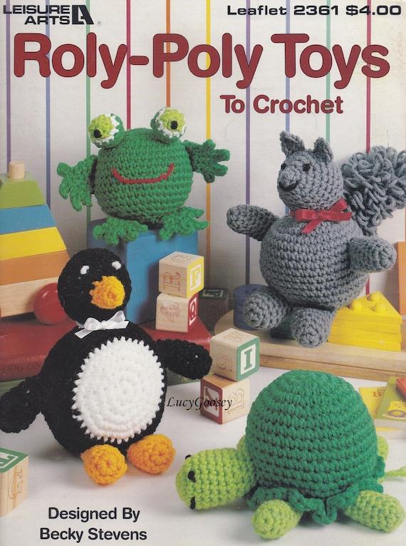 Pummel Spielzeug Freizeit Kunst häkeln Muster Booklet 2361   Etsy