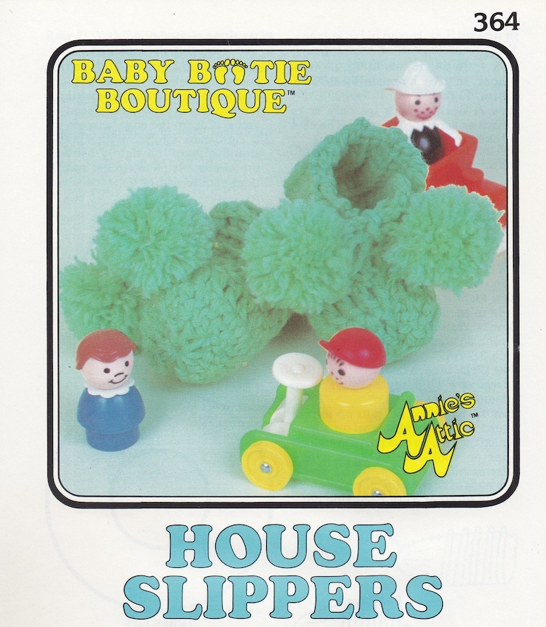 House Slippers Annie S Attic Baby Bootie Boutique Crochet