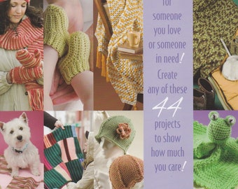 Love Stitches, Annie's Attic Crochet Pattern Booklet 879537 Over 40 Projects NEW