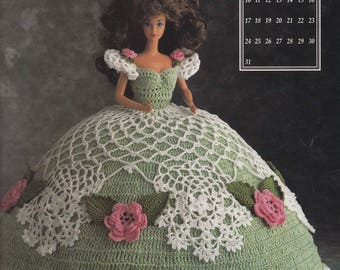 Miss March 1991, Annie's Crochet Pattern Booklet 7403 Antebellum Collection