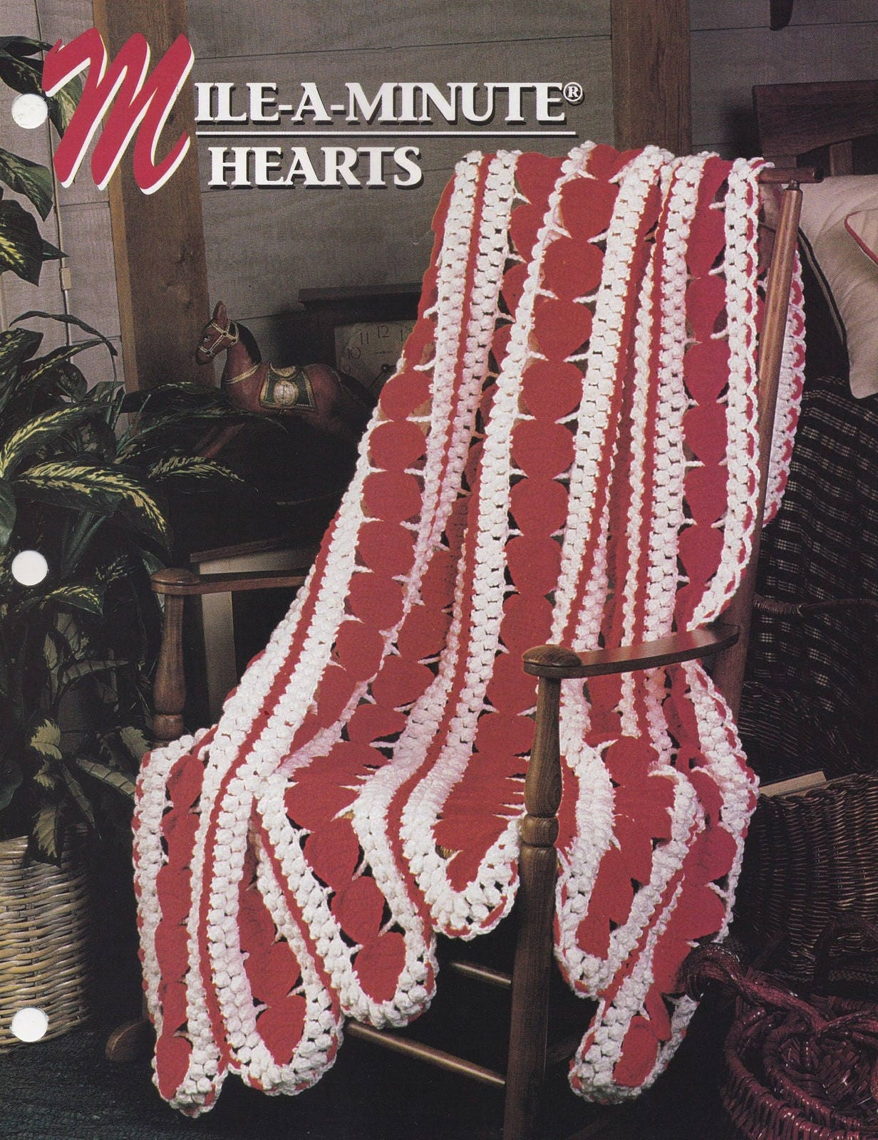 Red Heart Mile A Minute Afghan Pattern Best Decorating