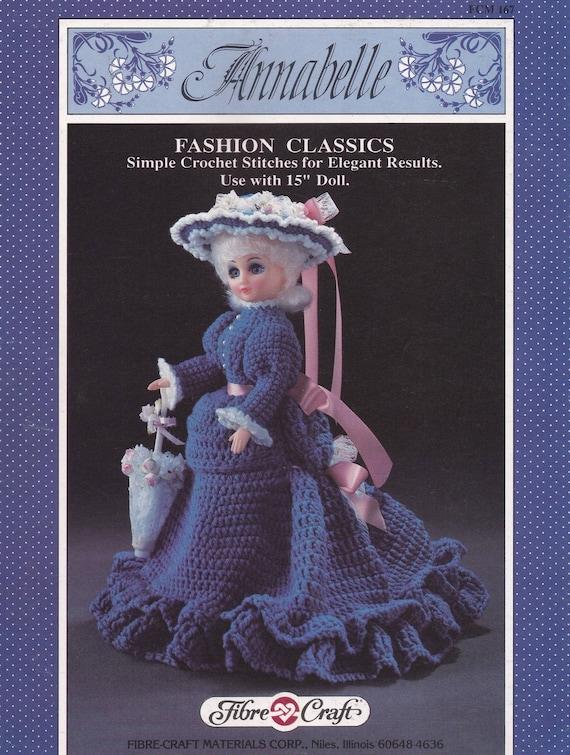 Annabelle Faser Handwerk häkeln Puppe Kleidung Muster | Etsy