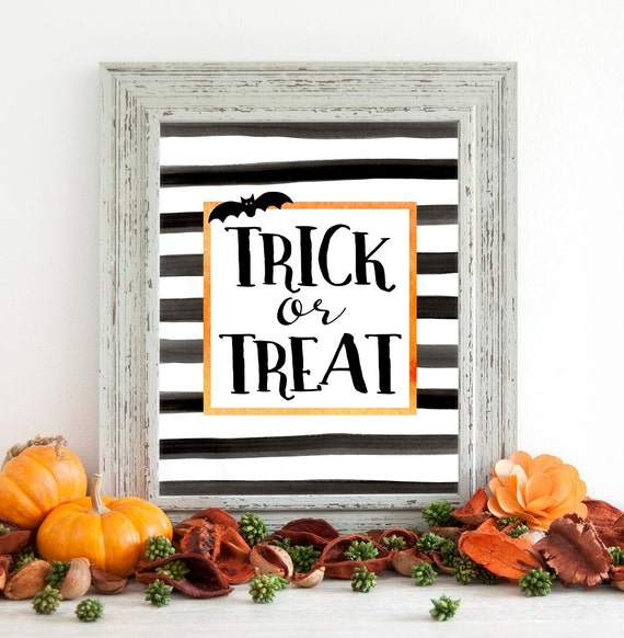 Halloween Printable Halloween Decor Halloween Wall Art Etsy