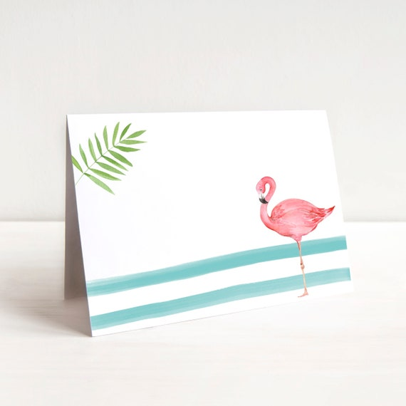 image about Flamingo Printable named Flamingo Printable House Playing cards, Flamingo Birthday Social gathering Decor, Summer months Bash Tent Playing cards, Tropical Get together Decor, Summer season Occasion Decorations