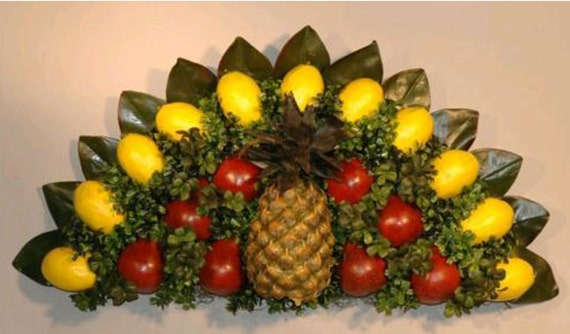 Colonial Williamsburg Style Over The Door Over Under Window Wall Plaque Base For Fresh Fruit Decoration 24