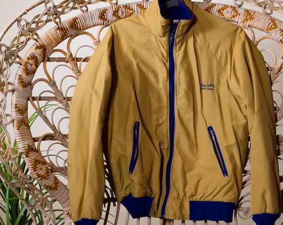 vintage Harrah's Lake Tahoe zip up jacket unisex med