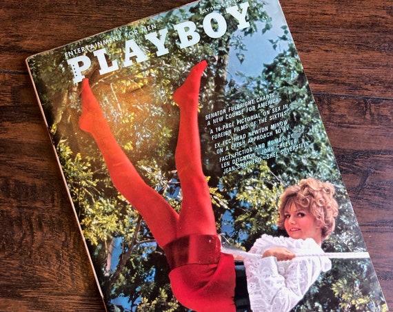 Authentic vintage March 1678 Playboy Magazine + Paul Newman interview