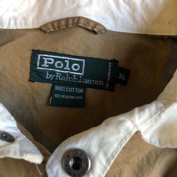 1980s polo by Ralph Lauren zip up windbreaker uni… - image 3