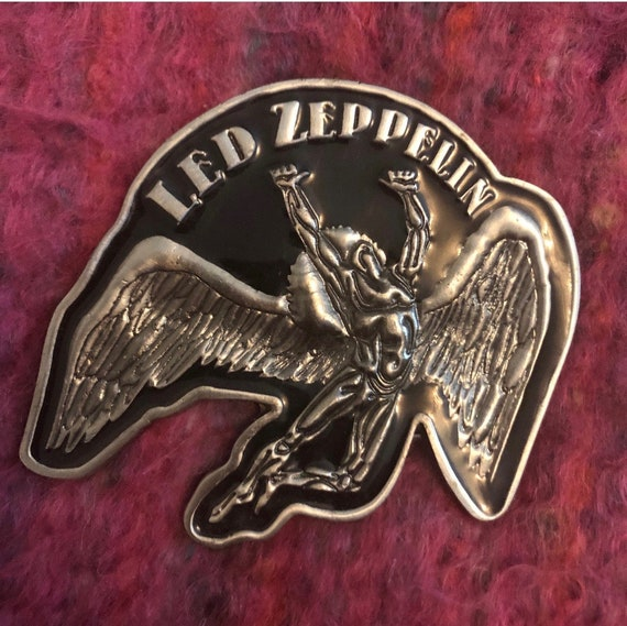 Led Zeppelin rare collectible belt buckle