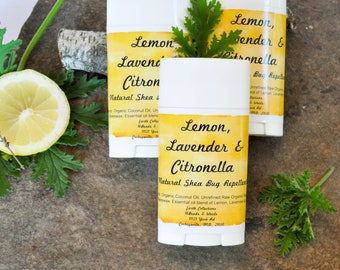Lemon Lavender & Citronella Bug Repellent