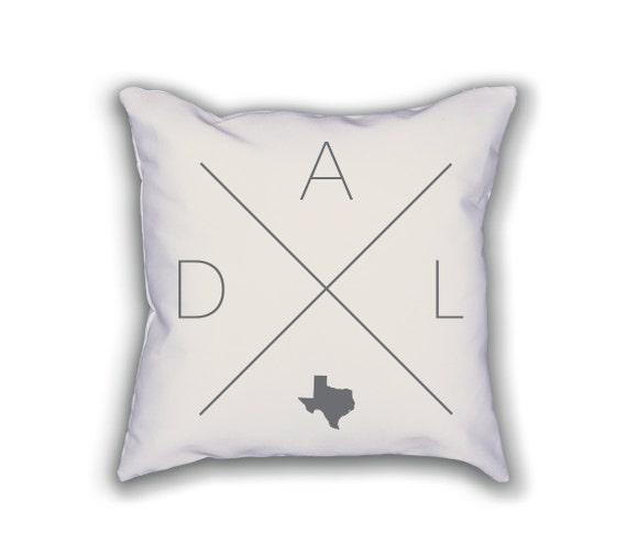 Dallas Home Pillow Texas Pillow Texas Home Decor Dallas