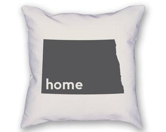 North Dakota Home Pillow
