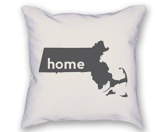 Massachusetts Home Pillow