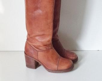 c7312bcee97 Vintage hippie boots | Etsy