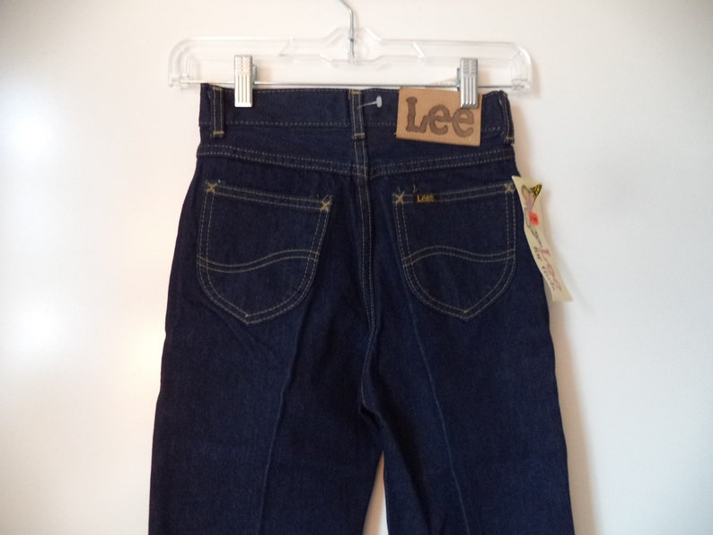 aef2c4ef33b7 NEW 80s Lee high waist jeans// Dead stock vintage with tags   Etsy