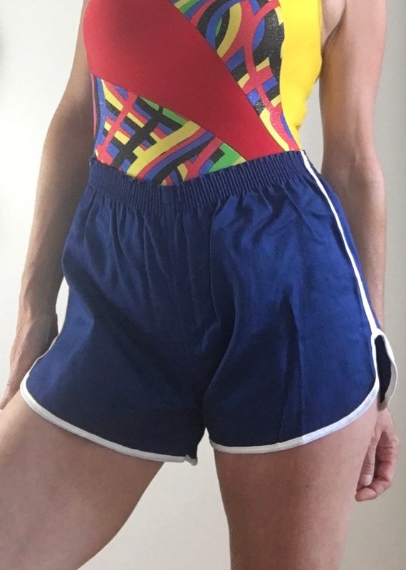 1970s Russell Athletic high waist gym shorts new o