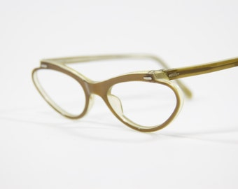 d86221dd6cec Vintage Rayber Cat Eye Glasses Frames- Very Cool and Rare! NOS