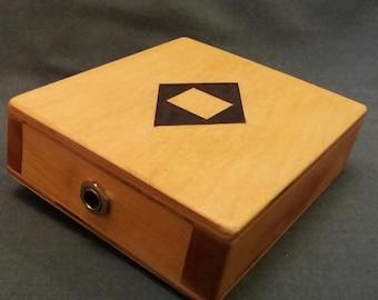 Stomp Box  Foot Drum  Stomper  Cigar Box Guitar  Cajon Drum  Handmade  New  950  Stomp Box U.K. Sales !!