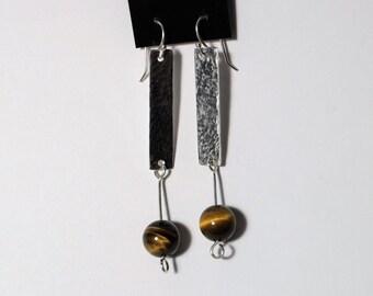 Wide Eyed Sunburst Argentium Silver Earrings for Pierced-ear by SmithSilver