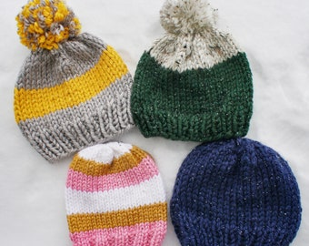 WINTER CLEARANCE: Infant, Toddler & Child Beanies