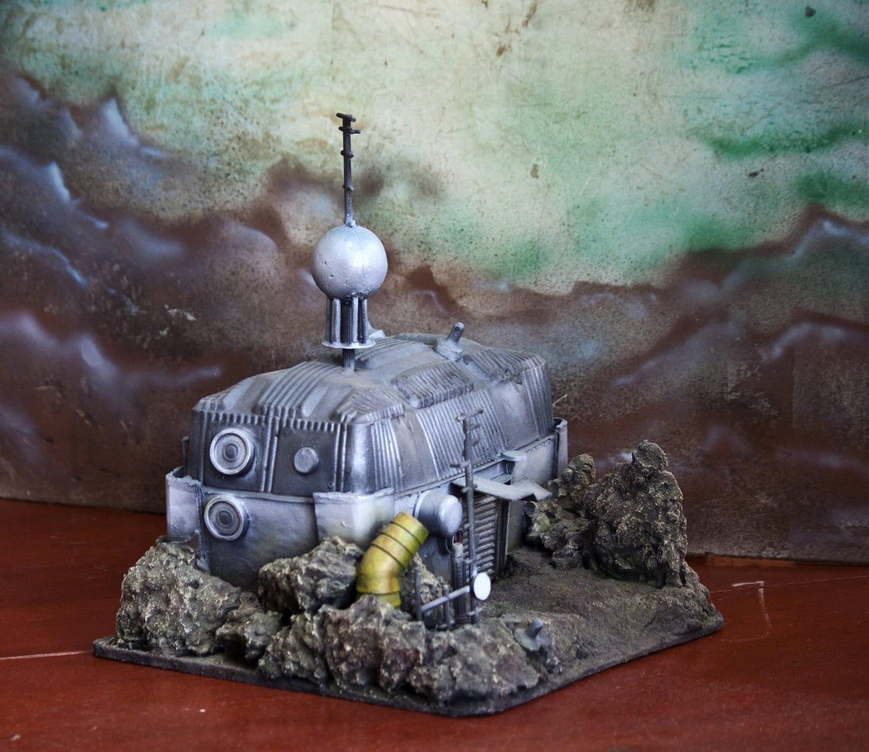 Mining Colony sci-fi wargame terrain