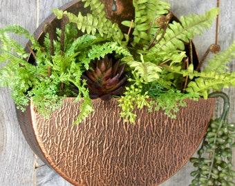 Copper planter | Etsy