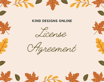 User license for teaching Jewelry - Written permission for teaching jewelry tutorials by Kind Designs Online - 2 year agreement - teach any