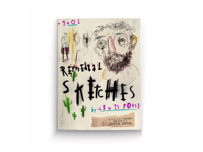 Remedial Sketches Art Book by Lewis Rossignol image 0