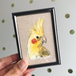Framed Acrylic Mini Pet Portraits | Hand Painted by Coral Flamingo