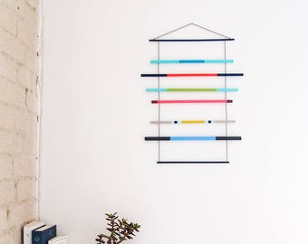 Geometric Wall Hanging Art Object Home Decor