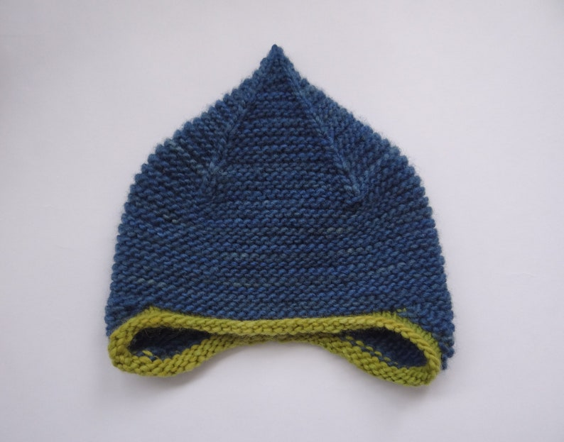 be24be508e6 Baby hat 6-24 months earflap hat merino wool baby toddler