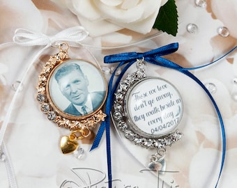 Bridal Bouquet Photo Charm Etsy