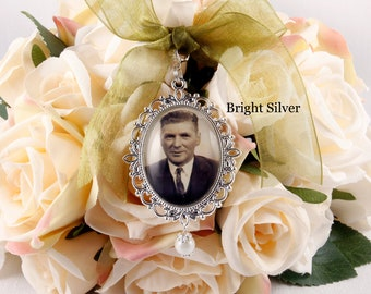 Bouquet Picture Charm, Wedding Bouquet Charm, Personalised Bouquet Charm, Memorial Photo Charm for Bouquet, Bridal Shower Gift, Bride to Be.