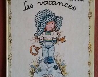 "Vintage book/Sarah Kay ""The holidays"" Editions Hemma 1978"