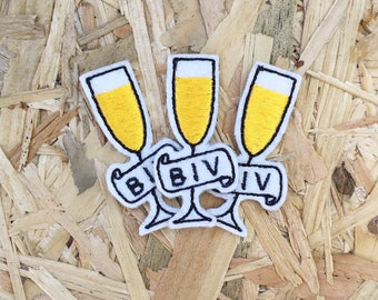 Biv Sew On Embroidered Patch