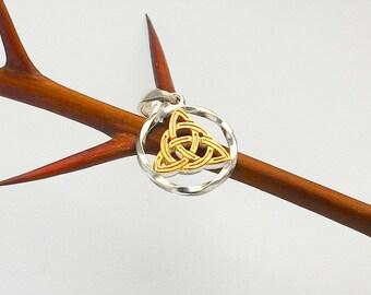 Trinity Knot.Trinity pendant.Triquetra necklace.Triquetra.celtic necklace.Triquetra necklace.Triquetra pendant.Triquetra.silver celtic knot.
